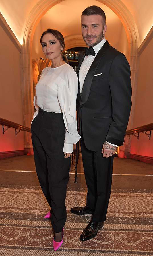 <h2>Victoria and David Beckham</h2>