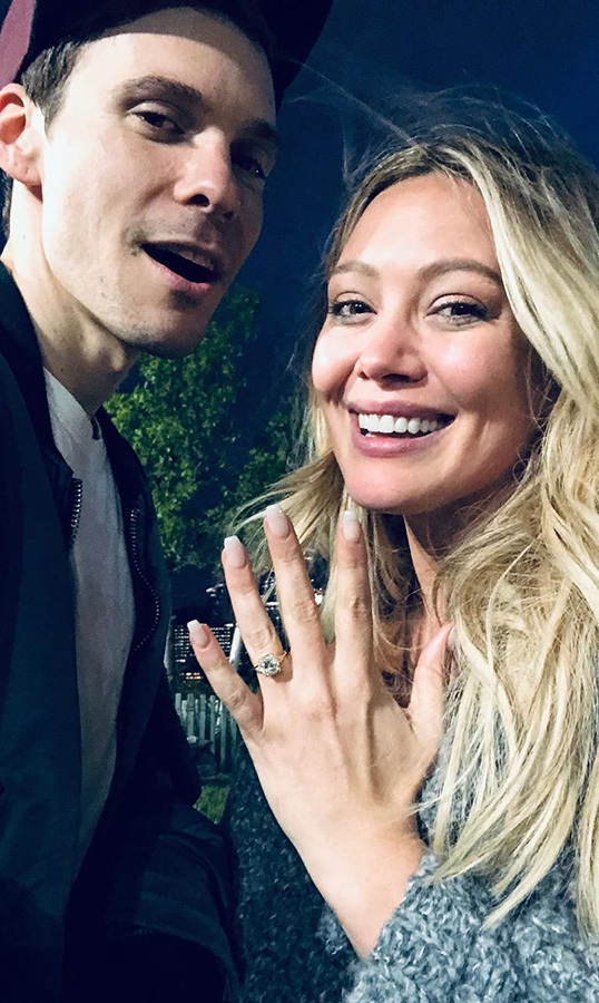 <h2>Matthew Koma and Hilary Duff</h2>