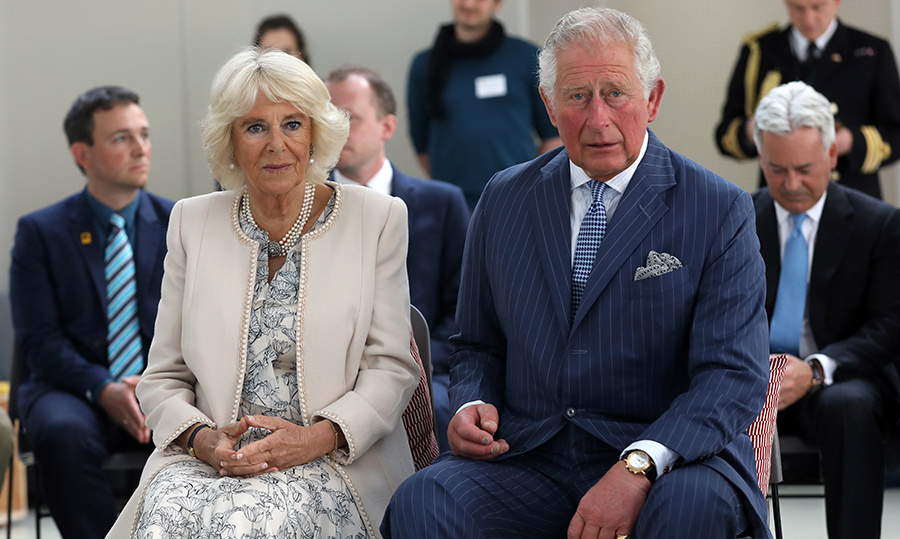 The Duke and Duchess of Cornwall also listened to participants of a project with women's refugees managed by the International Rescue Committee, a global humanitarian aid organization, and jobs4refugees.