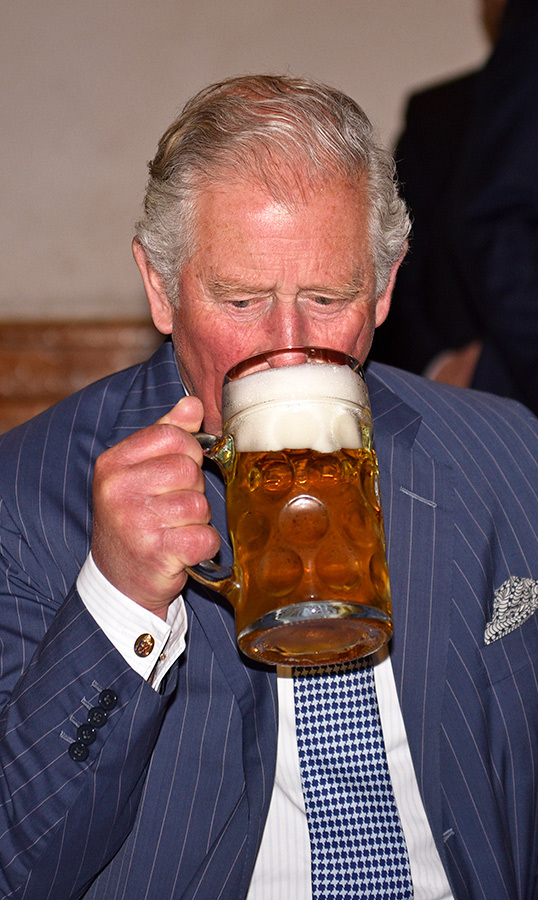 Charles was particularly fond of this brew!