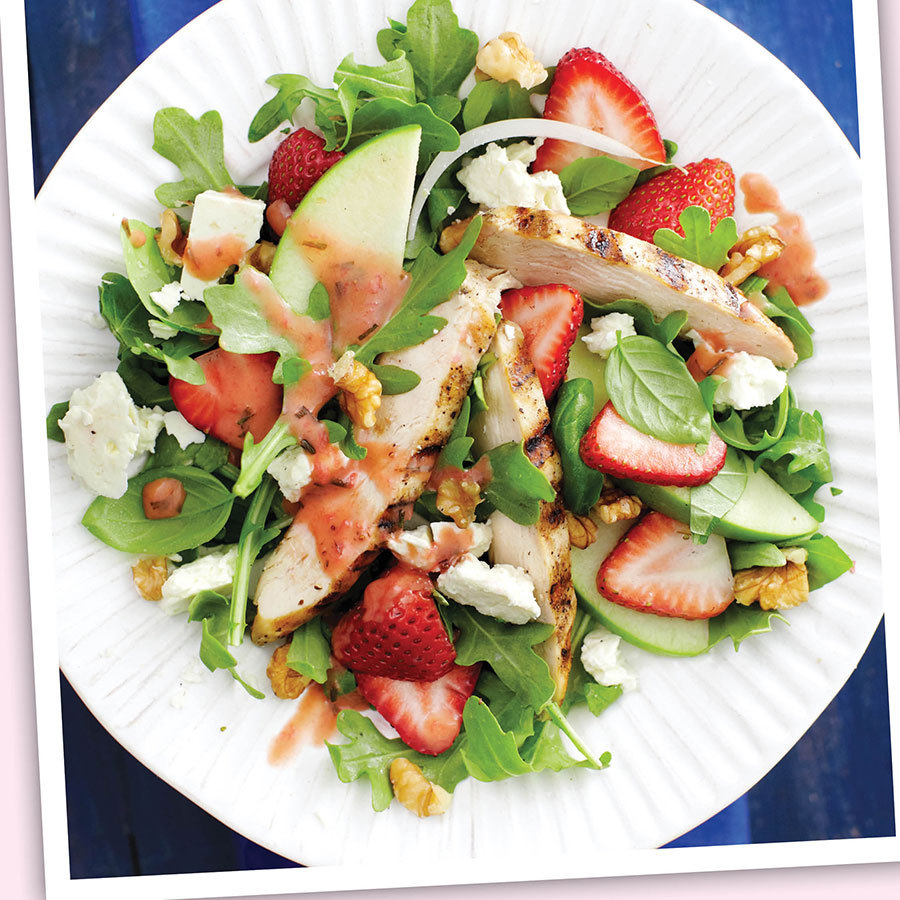 <h2>Strawberry and chicken salad</h2>