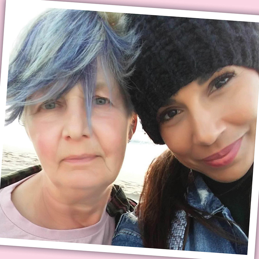 <h2>Amanda Brugel and mom Maureen</h2>