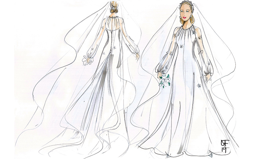 79dedaf4344 Designers share their ideas for the perfect wedding dress for Lady  Gabriella Windsor