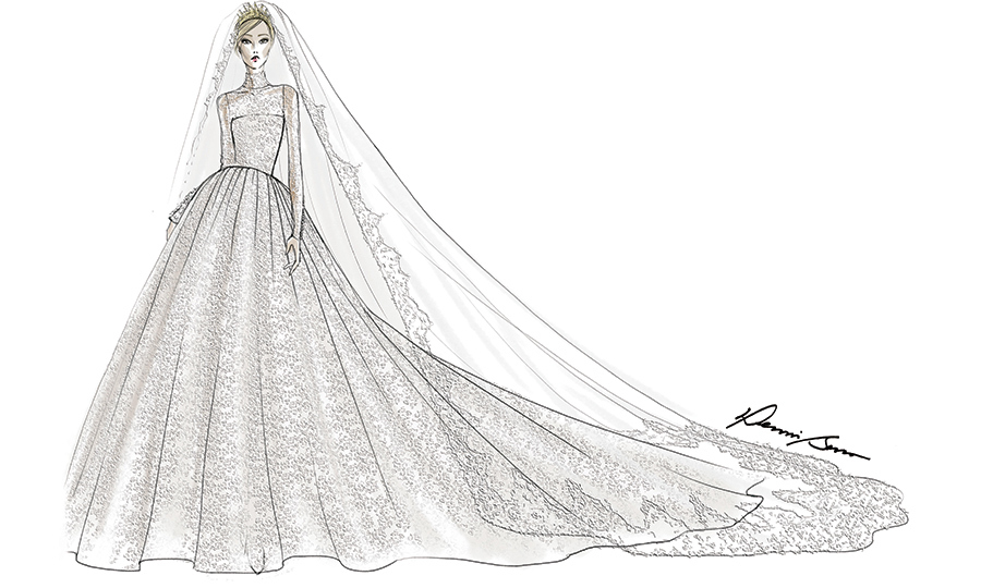 <h2>Dennis Basso's design</h2>
