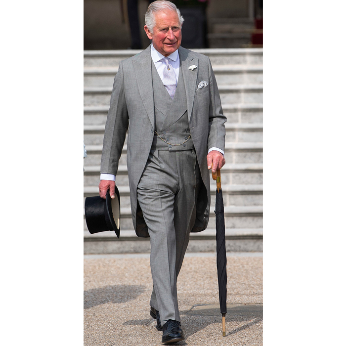"Charles looked happy to be stepping in for <a href=""/tags/0/queen-elizabeth-ii""><strong>the Queen</strong></a>.
