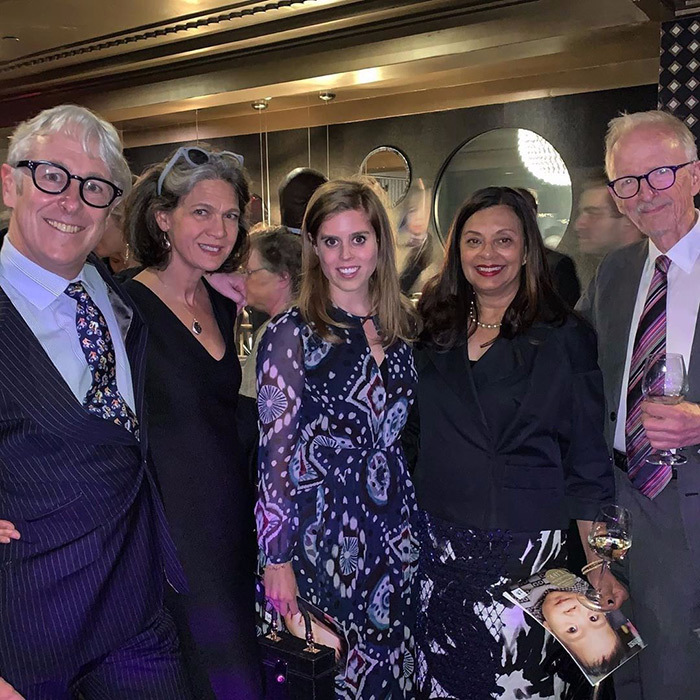 "<a href=""/tags/0/princess-beatrice""><strong>Princess Beatrice</a></strong> of York wore the dreamiest of spring dresses while being honoured at a May 15 New York gala for her work with Friends Without A Border.