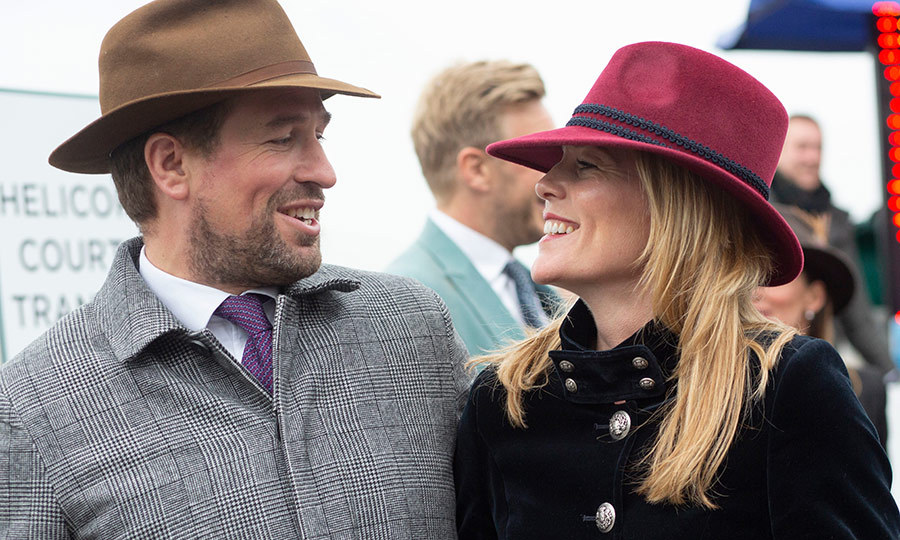 <h2>Peter Phillips and Autumn Phillips</h2>