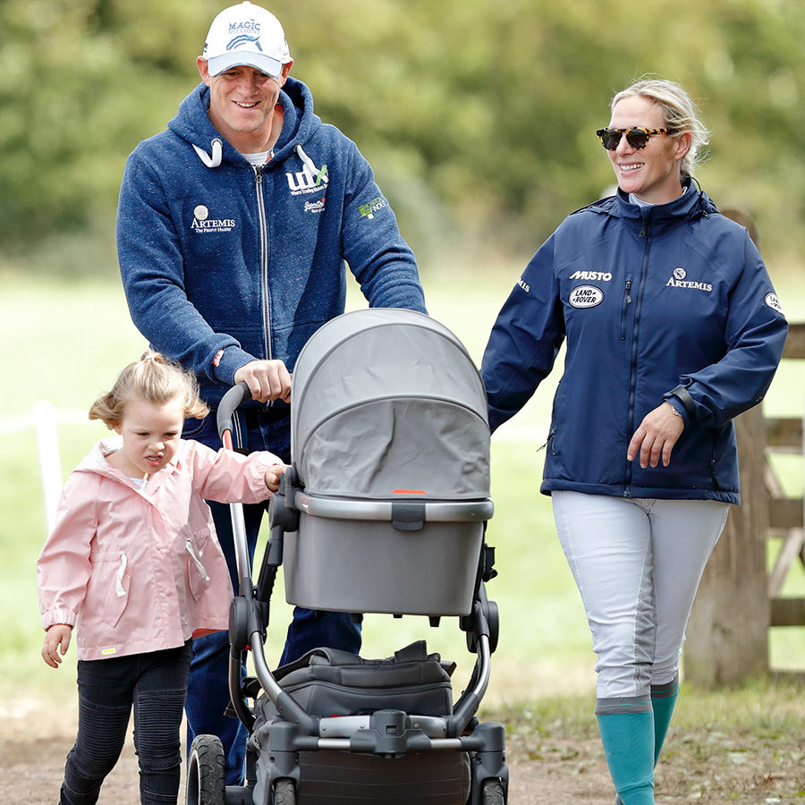 <h2>Mike Tindall and Zara Tindall</h2>