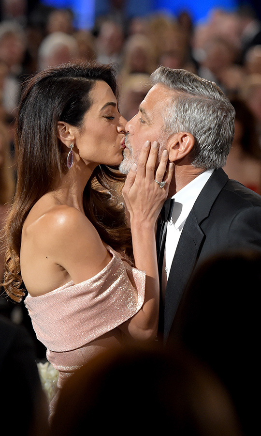 <h2>Amal Clooney and George Clooney</h2>