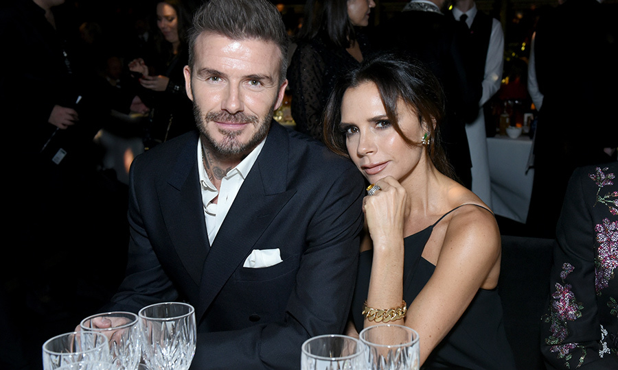 <h2>David Beckham and Victoria Beckham</h2>