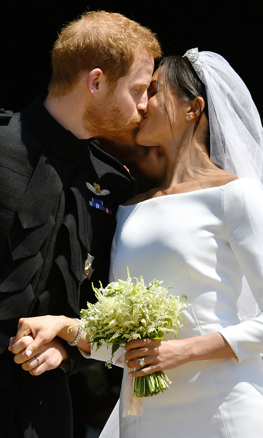 "Happy anniversary, <a href=""/tags/0/meghan-markle""><strong>Meghan</a></strong> and <a href=""/tags/0/prince-harry""><strong>Harry</a></strong>! The Duke and Duchess of Sussex wed a year ago on Sunday (May 19) at St. George's Chapel at Windsor Castle, and what a whirlwind year they've had since!