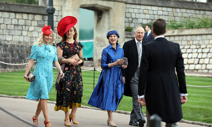 The <strong>Duke</strong> and <strong>Duchess of Gloucester</strong> (centre and second right) also made an appearance.