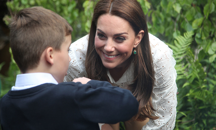 Kate was also super interested in what the children had to say about the garden and nature!