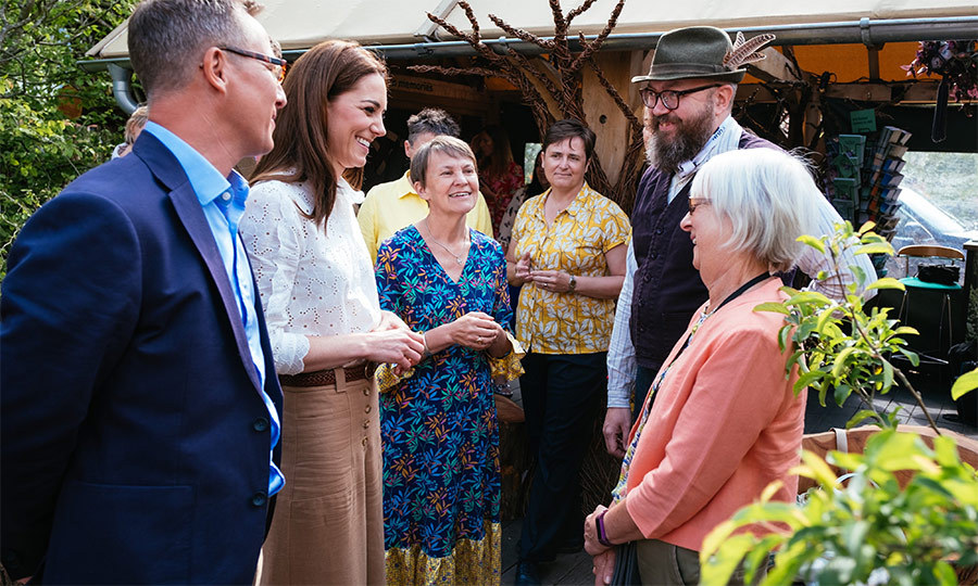 Kate also took some time to thank the RHS landscape architects and artists who helped create the project.