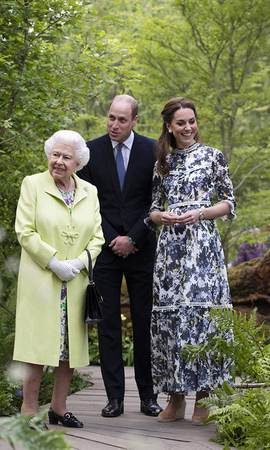 Everyone seemed very proud of Kate, as they should be!