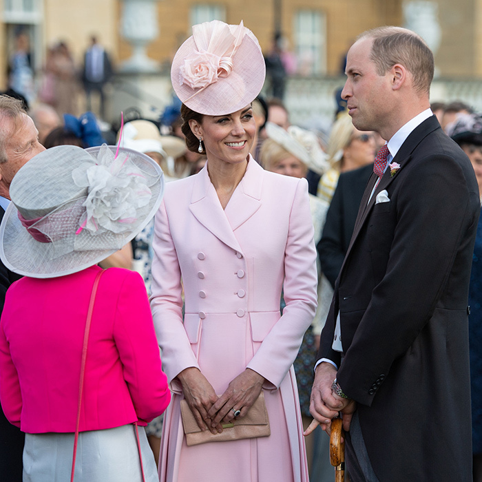 The duke and duchess graciously took time to chat with garden party attendees, showing off their winning personalities.