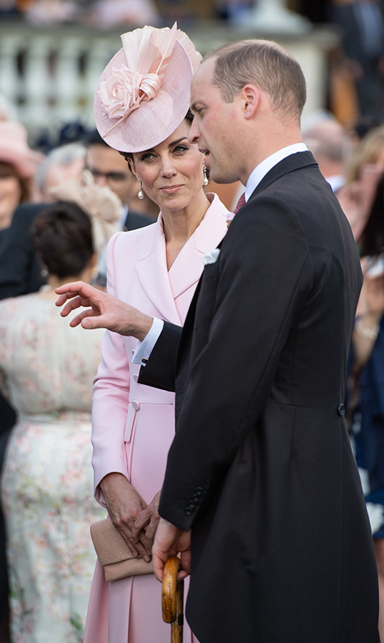 Duchess Kate listened intently as her husband, Prince William, spoke.