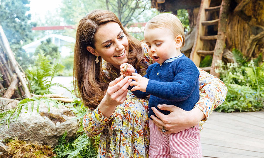 <strong>Duchess Kate</strong> looked ready for spring in a beautiful multi-coloured floral dress. The stylish number was featured in a sweet video of the entire Cambridge clan visiting her RHS Chelsea Flower Show installation.