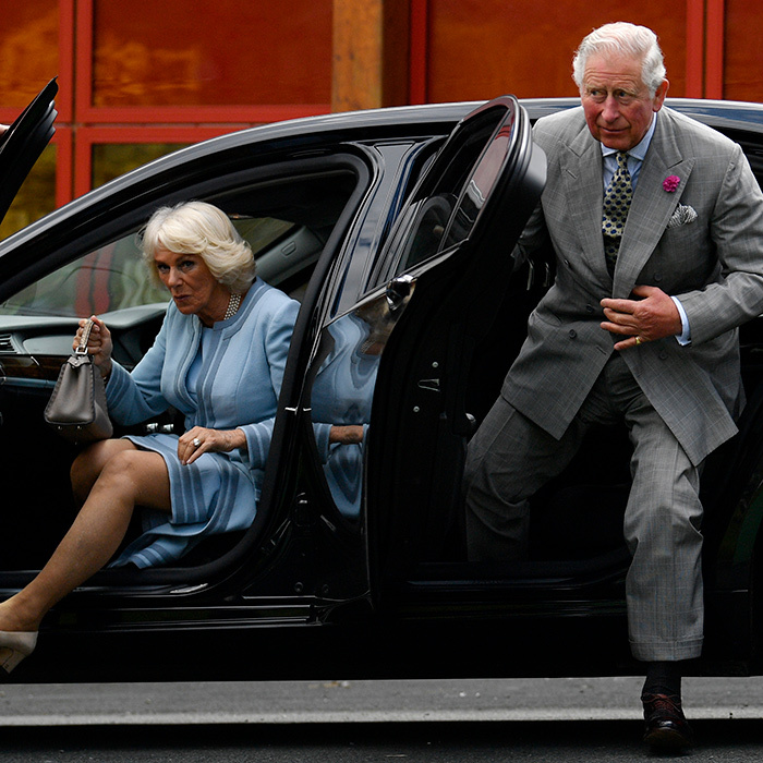 Earlier on May 21, Camilla and Charles arrived at the Glencree Centre for Peace and Reconciliation. The duchess sat in the front passenger seat, while the future King was in the back.