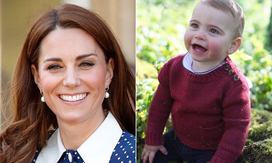 "Every time Kate shares a new image of <a href=""/tags/0/prince-louis""><strong>Prince Louis</a></strong>, royal watchers point out the strong resemblance between mother and son! 
