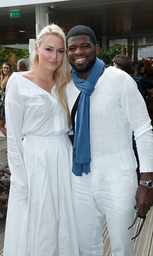 Athletes in love! Olympic skier Lindsey Vonn and Canadian hockey star P.K. Subban enjoyed the chicest date day at day three of the 2019 French Tennis Open.