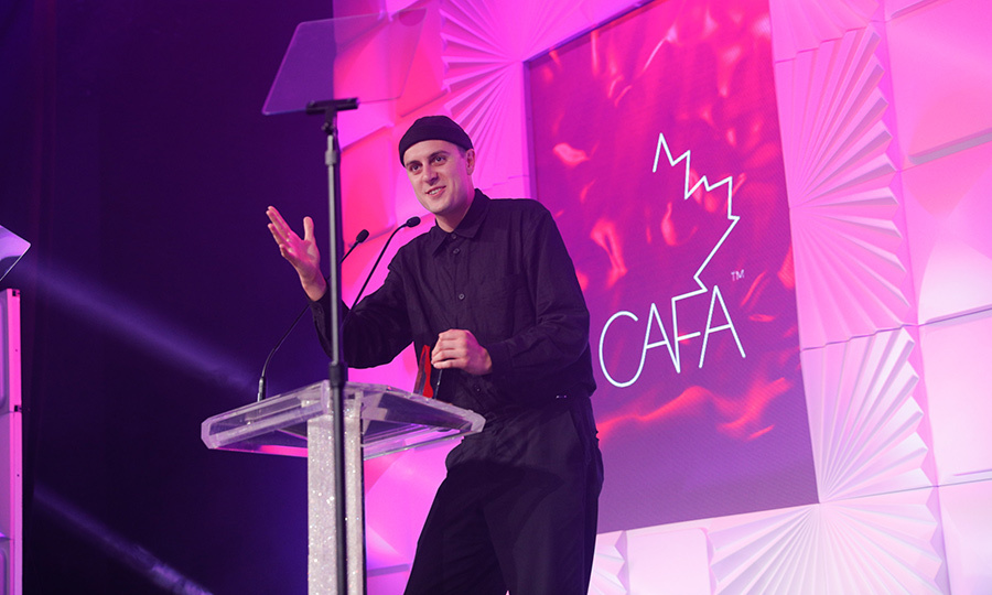 Designer <strong>Sid Neigum</strong> won the Womenswear Designer of the Year award. This is not his first CAFA - in 2015, he won the Swarovski Emerging Talent Award, which came with a $10,000 prize. 