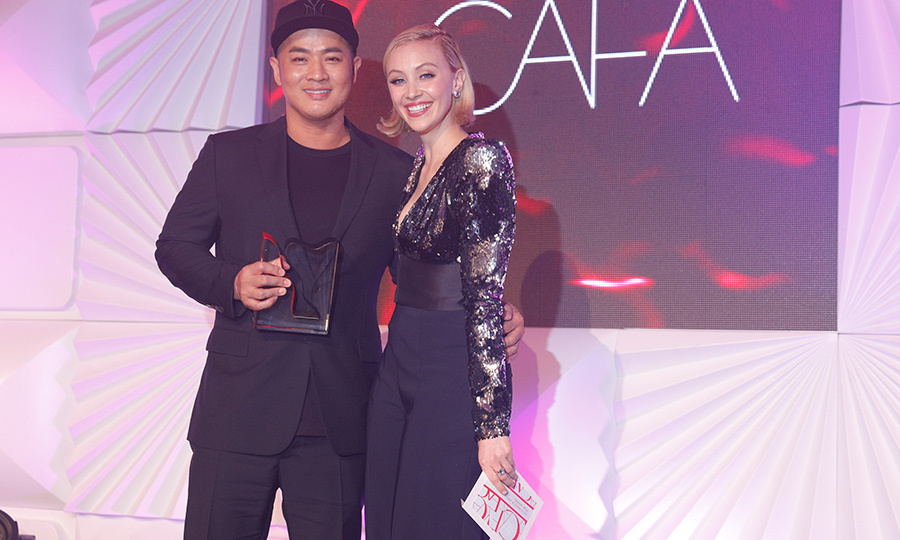 "<strong>Hung Vanngo</strong> (left), who once came to Canada as a refugee, was named Makeup Artist of the Year. Actress <strong><a href=""/tags/0/sarah-gadon"">Sarah Gadon</strong></a> presented him with the award.