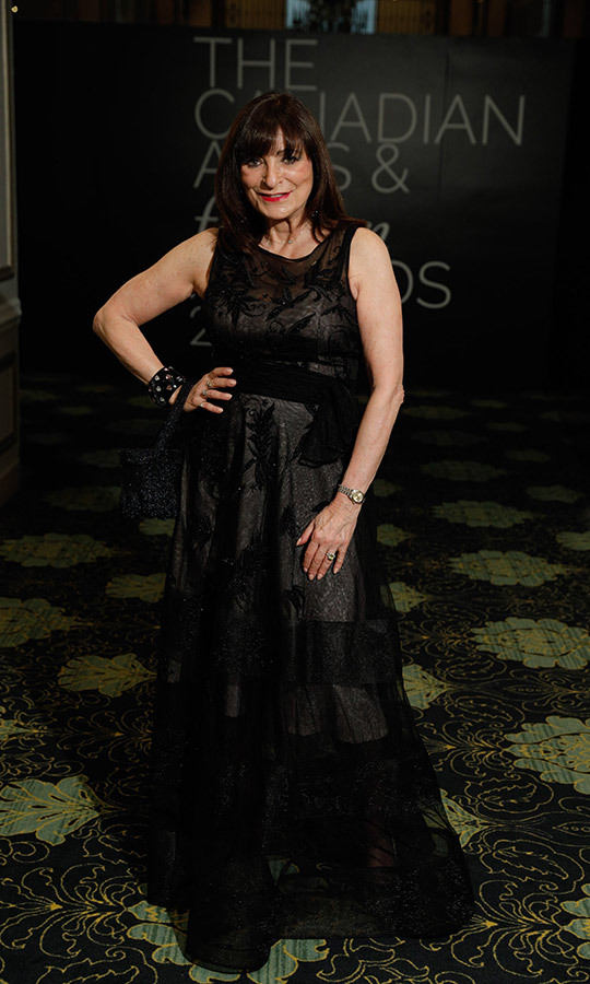 Canadian TV legend <strong>Jeanne Beker</strong> stunned in an all-black look at the event.