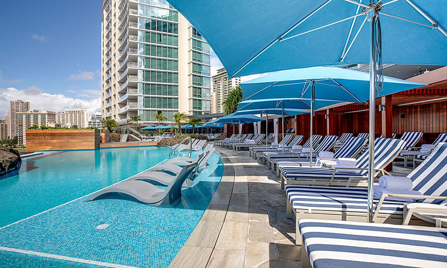 "For fans of a strictly modern esthetic, the <a href=""http://www.ritzcarlton.com/en/hotels/hawaii/waikiki"">Ritz-Carlton Residences</a> opened its doors in 2016 – and its second gleaming tower last year. 
