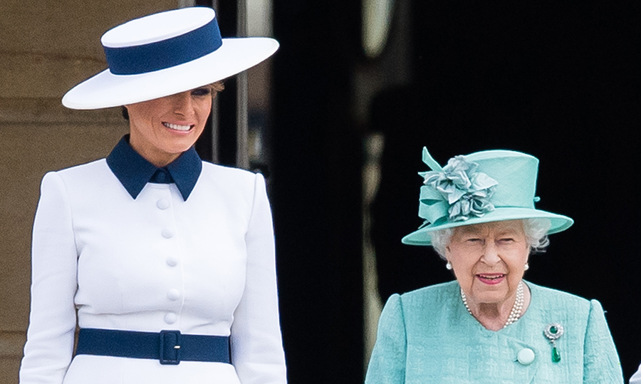 459f45c717296 Melania Trump gave the Queen brooch worth $880 during UK state visit