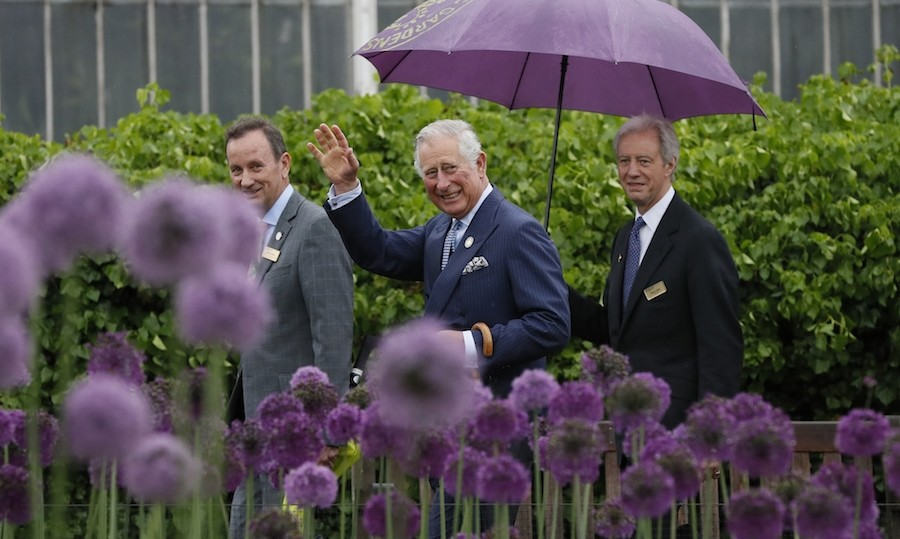Even back in 1986, Prince Charles considered himself a lover of nature. 