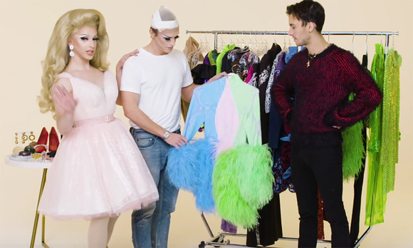 cc6bfadc4263d 'Queer Eye' star Antoni Porowski gets a drag makeover that will make you  yell 'yasssss'