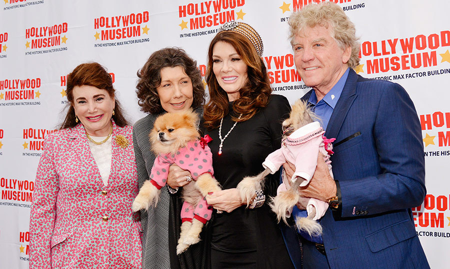 "Founder and President of The Hollywood Museum Donelle Dadigan, Trailblazer Award recipient <a href=""/tags/0/lily-tomlin""><strong>Lily Tomlin</strong></a>, Hollywood Legacy Award recipient <a href=""/tags/0/lisa-vanderpump""><strong>Lisa Vanderpump</strong></a>, husband Ken Todd attended the 7th annual <em>REAL to REEL: Portrayals and Perceptions of LGBTQ's in Hollywood</em> exhibit. 