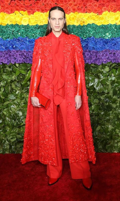 Jordan Roth in Givenchy Couture