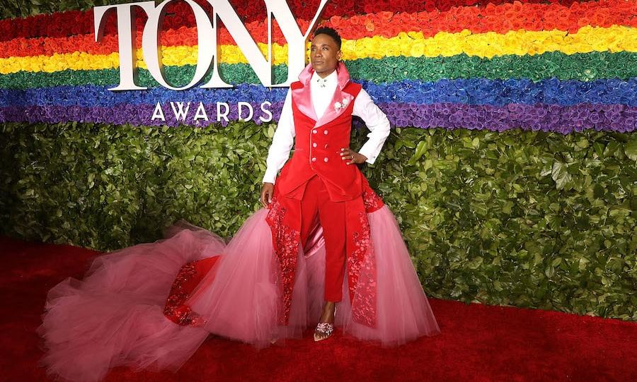 "<a href=""/tags/0/billy-porter""><strong>Billy Porter</strong></a> in Celestino Couture