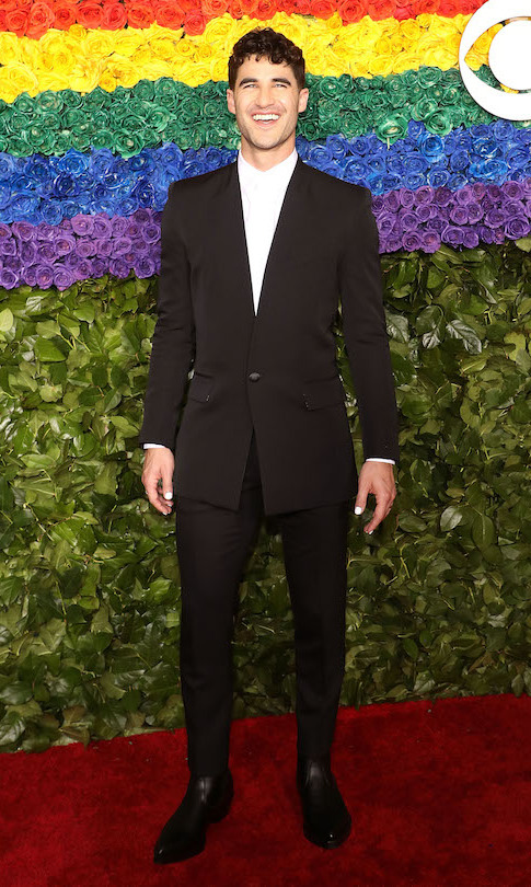 "<a href=""/tags/0/darren-criss""><strong>Darren Criss</strong></a> in Givenchy