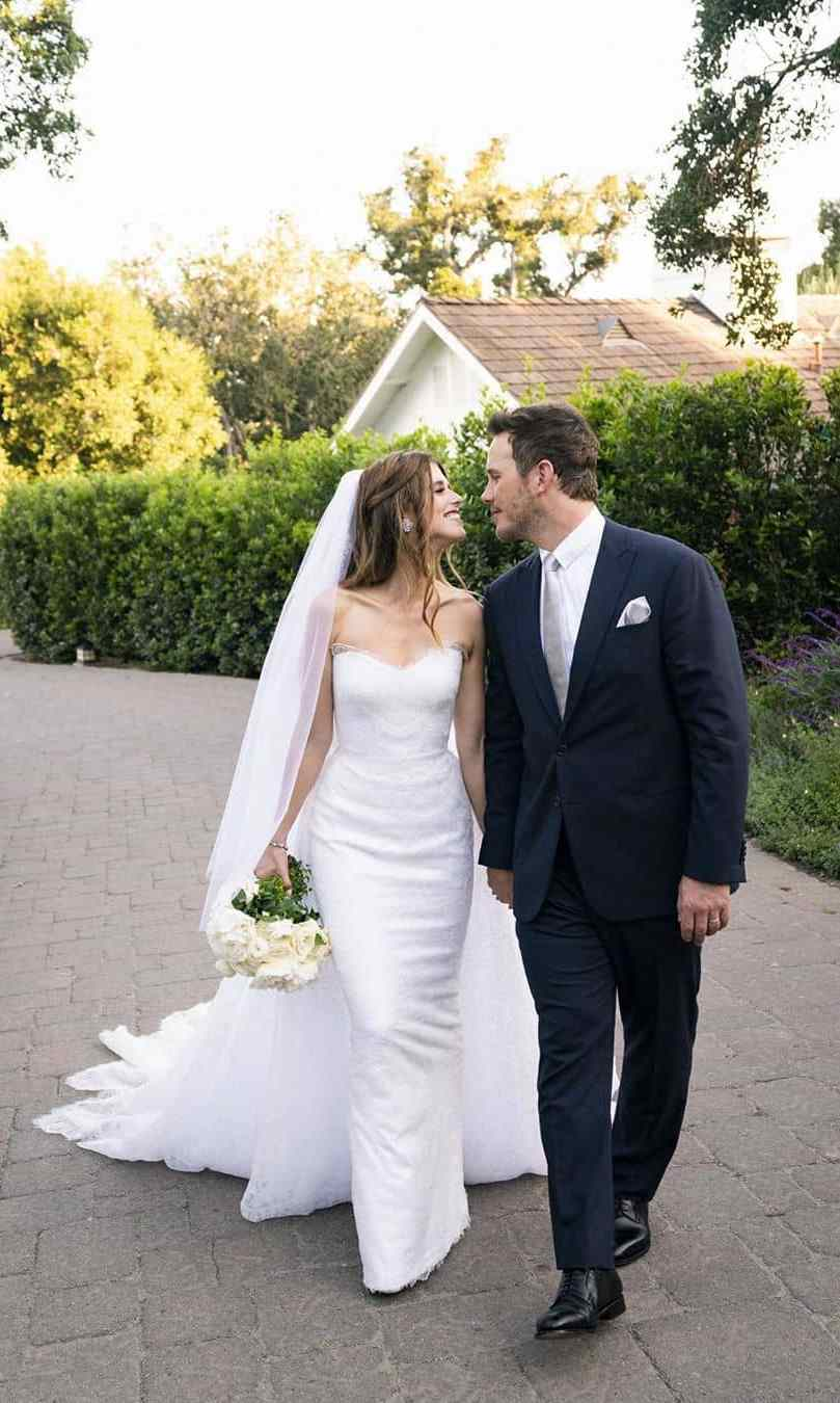 <h2>Katherine Schwarzenegger and Chris Pratt</h2>