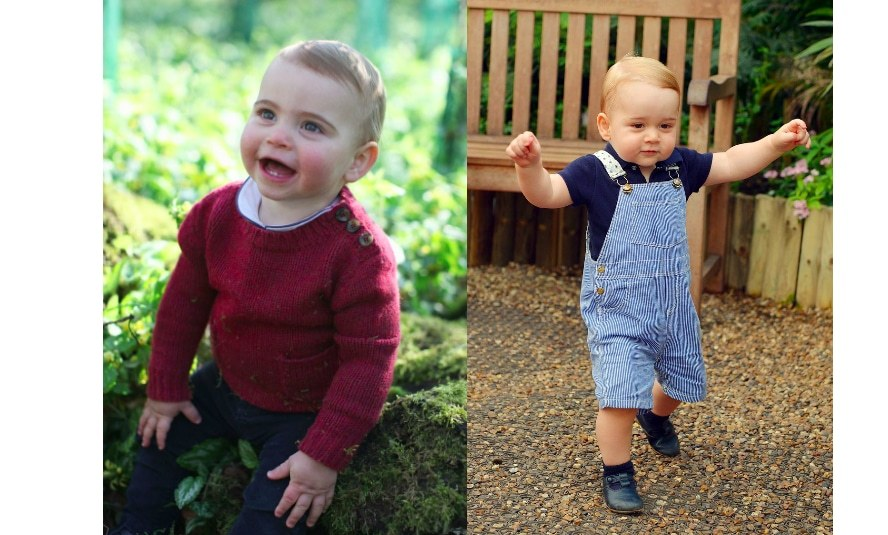 "<a href=""https://ca.hellomagazine.com/tags/0/prince-louis""><strong>Prince Louis</strong></a> was the picture of adorable in his first birthday portraits taken by his mom, the <a href=""https://ca.hellomagazine.com/tags/0/kate-middleton""><strong>Duchess of Cambridge</strong></a>, at their Norfolk home of Anmer Hall. While his little feet are barely visible, eagle eyed royal watchers noticed that he was wearing the same Italian leather t-bar Early Days shoes that <a href=""https://ca.hellomagazine.com/tags/0/prince-george""><strong>Prince George</strong></a> wore while on royal tour in Australia with mom and dad.