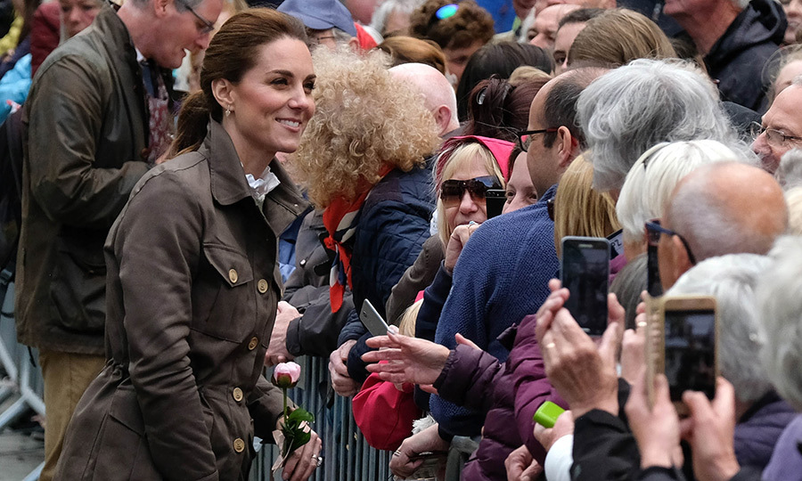 "<strong><a href=""/tags/0/kate-middleton"">Duchess Kate</a></strong> and <strong><a href=""/tags/0/prince-william"">Prince William</a></strong> visited Cumbria in the Lake District on June 11 and took the time to speak to residents and farmers about the challenges the region is facing. 