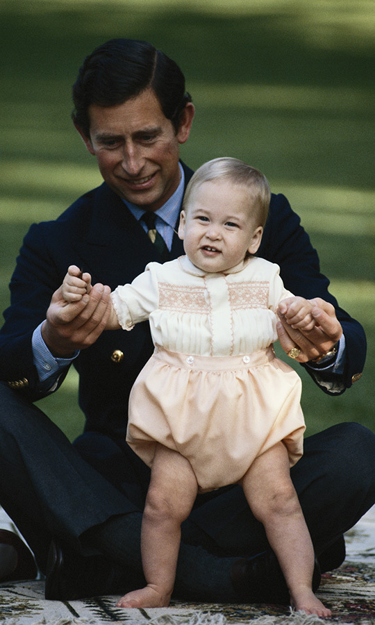 A few months later, Charles and Diana brought William with them to New Zealand, and Charles seemed thrilled when his son got up and tried to walk during the visit! 