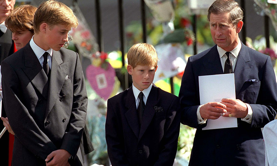 Good dads are there for their kids during the happy times and the sad times. Charles was a pillar of support for William and Harry when they lost their mother, Princess Diana, in 1997. 