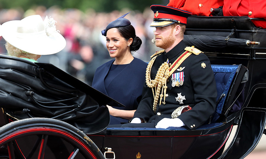 "She's back! <a href=""/tags/0/meghan-markle""><strong>Duchess Meghan</strong></a> made her first appearance in nearly a month since she and <a href=""/tags/0/prince-harry""><strong>Prince Harry</strong></a> debuted their son Archie Harrison on May 8. 