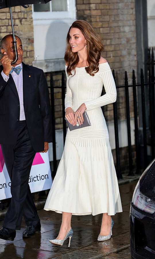 "The <a href=""https://ca.hellomagazine.com/tags/0/kate-middleton""><strong>Duchess of Cambridge</strong></a> has had quite the week in fashion! Kate recycled one of her fan-favourite dresses and a surprising metallic shoe perfect for a night out on June 12 while she attended an evening gala supporting a cause close to her heart.