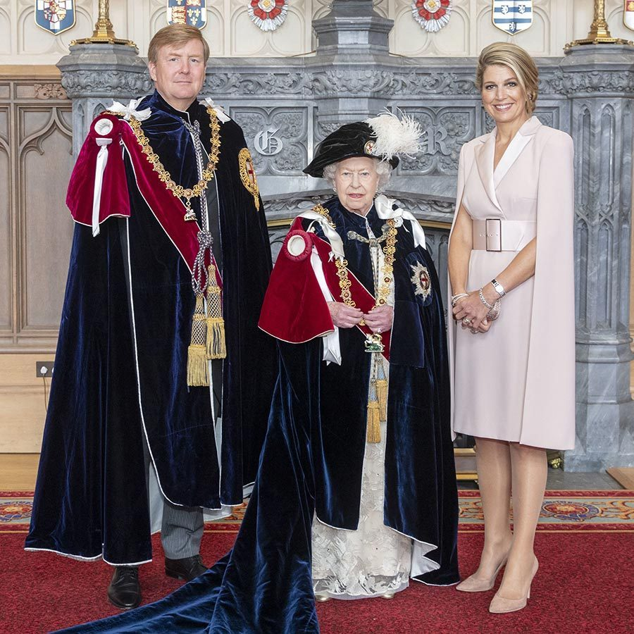 "<strong><a href=""/tags/0/king-willem-alexander"">King Willem-Alexander</a></strong> of the Netherlands was made a Supernumerary Knight of the Garter. 