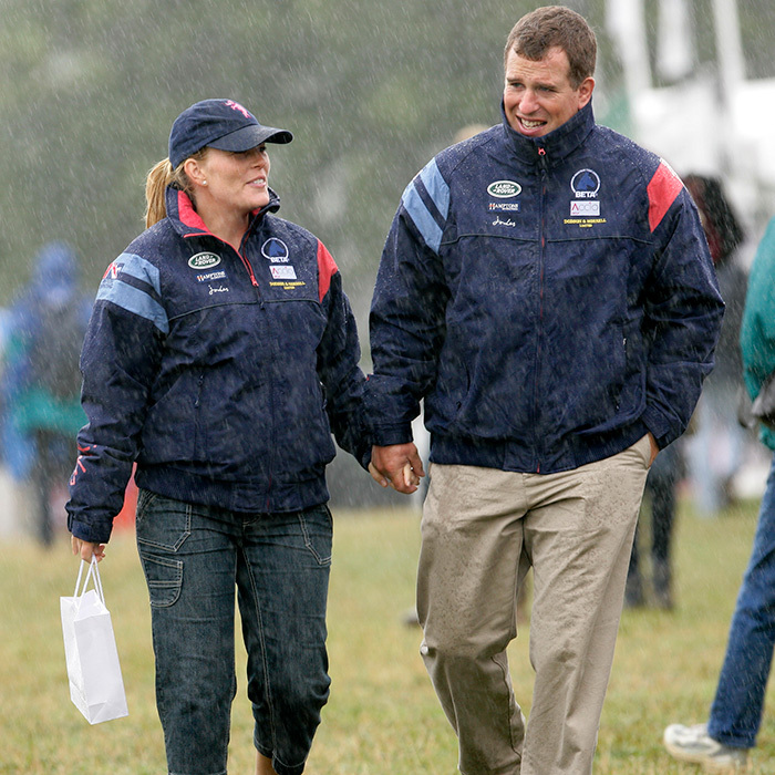 "<strong><a href=""/tags/0/autumn-phillips>Autumn</a></strong> and <strong><a href=""/tags/0/peter-phillips"">Peter Phillips</a></strong> walked hand in hand in a downpour as they attended day two of the Festival of British Eventing at Gatcombe Park in 2010.