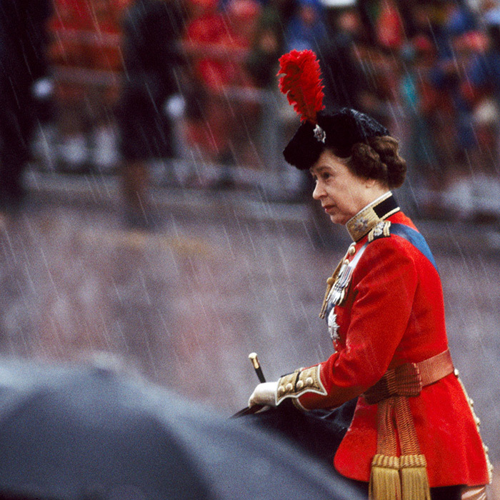 "<strong><a href=""/tags/0/queen-elizabeth-ii"">Queen Elizabeth II</a></strong> rode horseback during <Strong><a href=""/tags/0/trooping-the-colour"">Trooping the Colour</a></strong> in 1982.