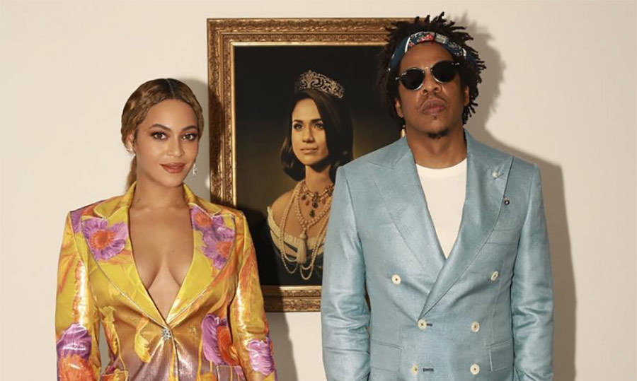 <h2>Beyoncé and Jay-Z</h2>