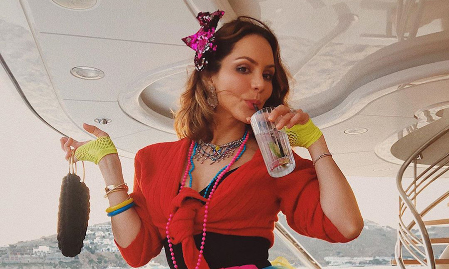 "Nearly newlyweds <a href=""/tags/0/katharine-mcphee""><strong>Katharine McPhee</strong></a> and Canadian icon <a href=""/tags/0/david-foster""><strong>David Foster</strong></a> have been partying it up while on vacation in Italy and Greece! 