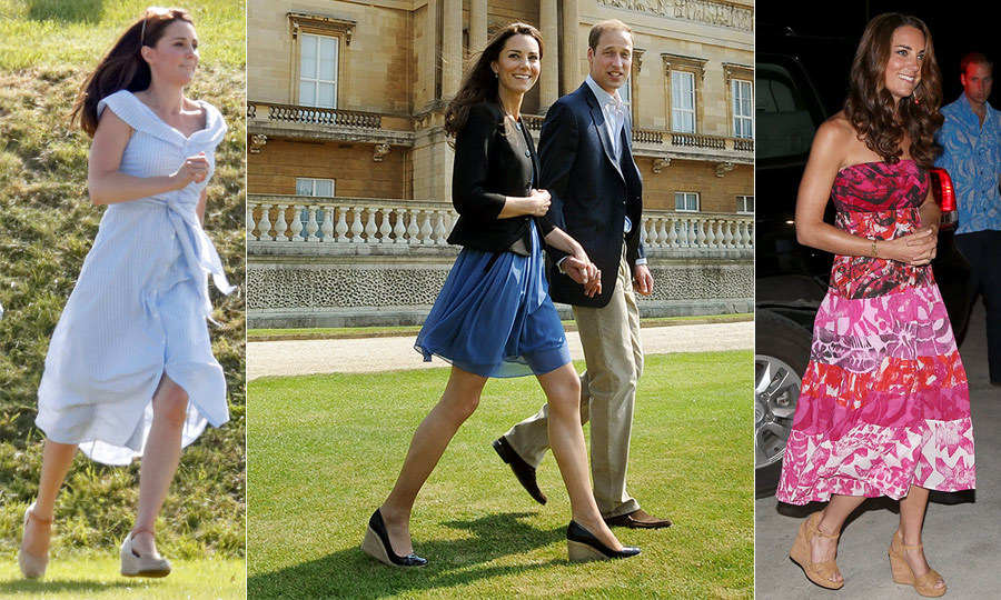 "The <a href=""/tags/0/kate-middleton""><strong>Duchess of Cambridge</strong></a> has always been a style starter, and she sure knows what works for her – especially when it comes to footwear.