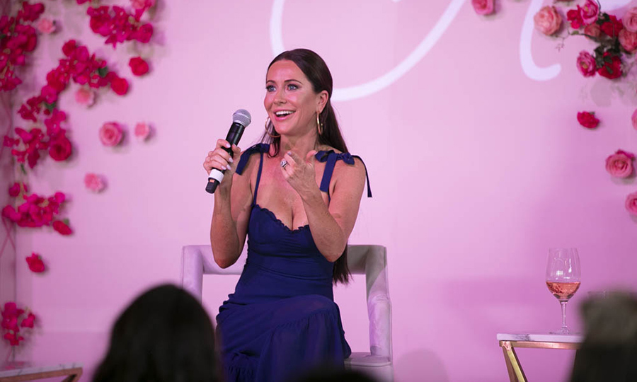 "Jessica, who has styled many people including <strong><a href=""/tags/0/sophie-gregoire-trudeau"">Sophie Grégoire-Trudeau</strong></a>, had lots of wisdom to impart to the crowd! She told Sangita how much she enjoys working with brides, how passionate she is about her work with <i>CityLine</i> and <I>Good Morning America</i>, and her best strategies for managing stress. She said she loves to exercise to banish her anxiety! 